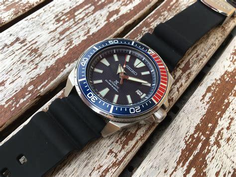 Jam Tangan Pria Seiko Prospex Srpb49k1 Samurai Blue Divers A seiko prospex srpb53k1 samurai pepsi jam pria srpb53