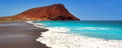 Tenerife La plage de La Tejita Canaries Espagne