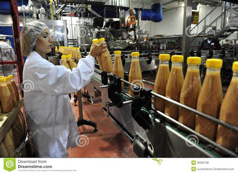 Production Worker by Food Industry Editorial Stock Photo Image 36265708