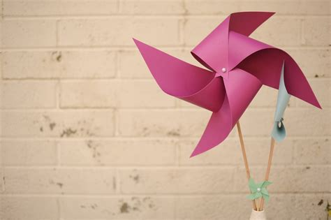 A Paper Pinwheel - diy paper pinwheel decor ideas the sweetest