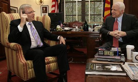 Mccain Office by Mccain Happy To Meet With Rudd Us Election Smh