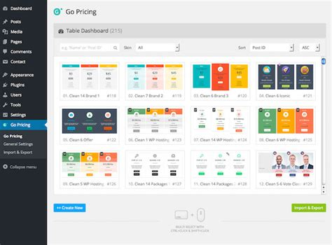 best plugin 20 best pricing table plugins for 2018