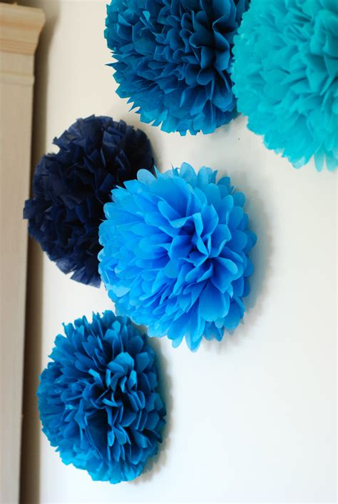 How To Make Mini Tissue Paper Pom Poms - mini tissue paper pom pom wall decoration wall wall