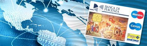 www banca di piacenza conto banca di piacenza guida ai conti correnti e