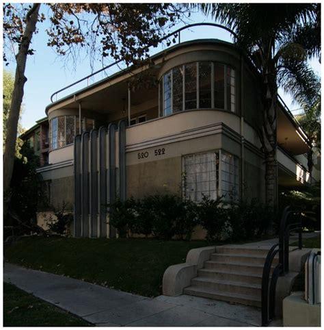 Deco Apartment Buildings Los Angeles Mauretania Apartments By Architect Milton J Black