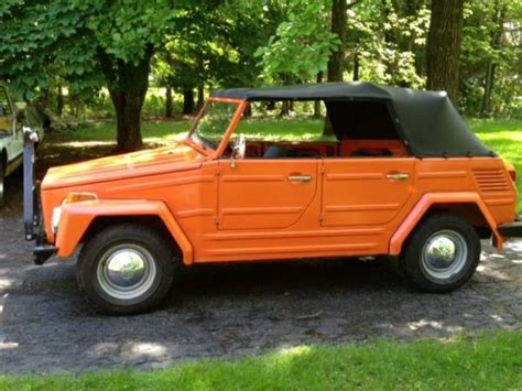 volkswagen thing for sale craigslist 10k miles and 2 owners original 1973 volkswagen thing