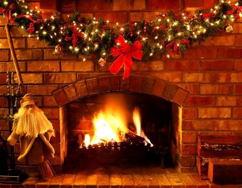 free fireplace christmas photos free cards fireplace cards