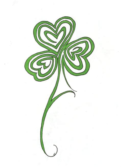 tribal irish tattoo shamrock tattoos designs ideas and meaning tattoos for