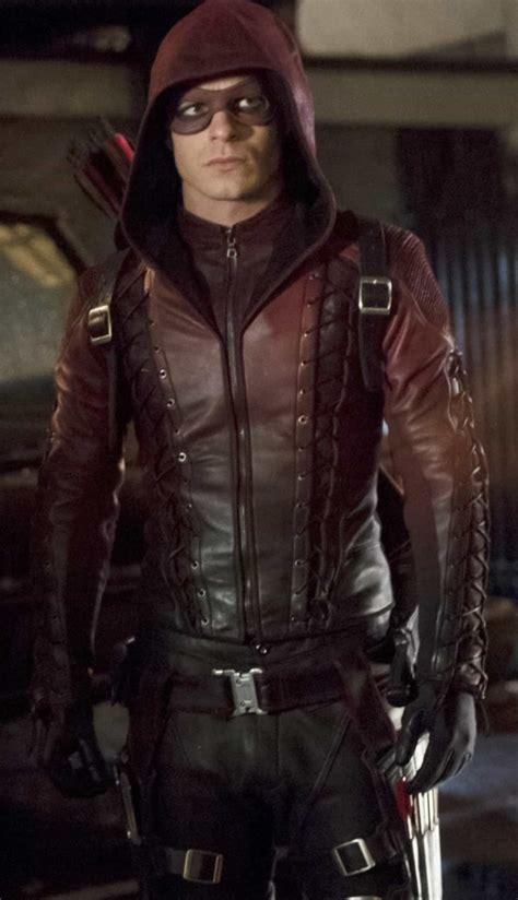arsenal arrow arsenal hooded red arrow jacket by roy harper