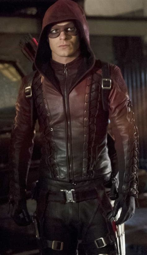 Arsenal Hooded Red Arrow Jacket by Roy Harper