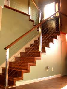 Stainless Steel Stairs Design Architectural Railings Stainless Steel Cable Railing Handrail San Diego Welding Mountain