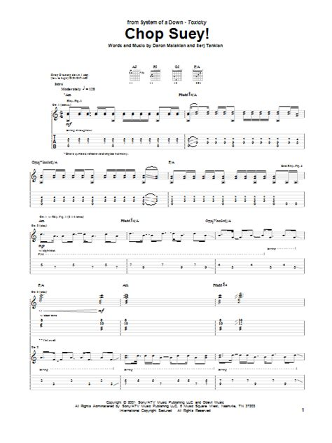 drum tutorial chop suey chop suey sheet music direct