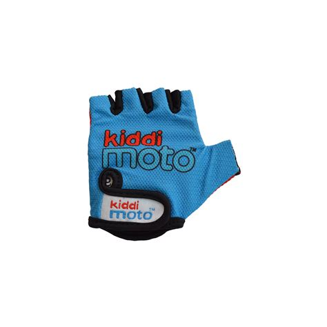 Blue Ride 02 blue cycling gloves ages 2 5 years kiddimoto