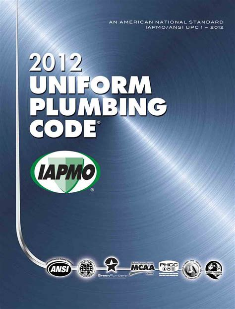 Washington Plumbing Code by This Course Requires You To A Copy Of The 2012 Upc
