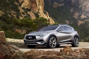 Infiniti Qx30 Infiniti Qx30 Concept Small Luxury Suv Previews 2016