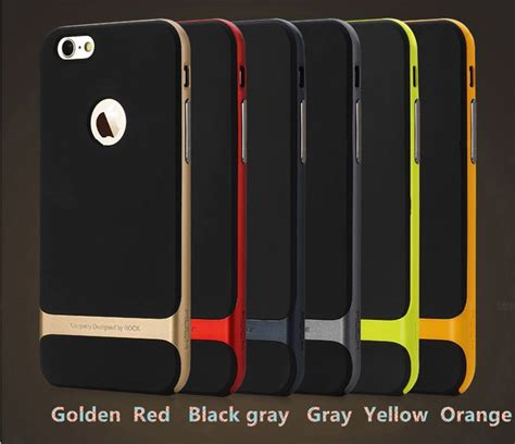 Protective For Iphone 6plus 7 7 Plus Cover Kickstand Pc Tpu Shock best golden metal protective iphone 6 plus cases and