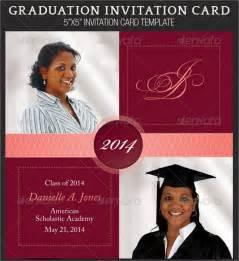 Graduation Invitation Cards Templates by 7 Graduation Invitation Templates