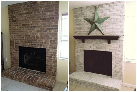 Change Color Of Brick Fireplace by I Really Want To Do Something With The Brick Fireplace In