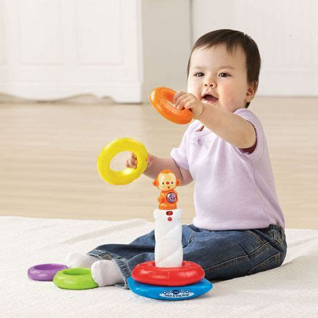 Vtech Stack N Discover Rings vtech stack sing rings version walmart canada