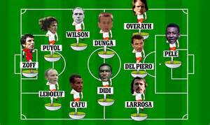 Odd man out alessandro del piero carles puyol and cafu are in our xi