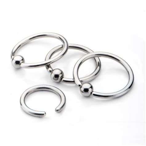 how to put in a captive bead ring titanium captive bead rings invictus jewelry