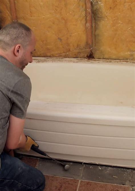 remove  bathtub diy pj fitzpatrick