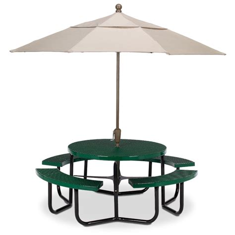 expanded steel table portable frame picnic tables