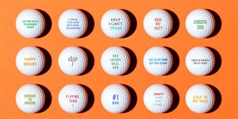 personalized golf balls custom logo golf balls golf hats personalize your golf balls with your custom logo text or