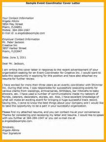 Event Planner Cover Letter by 6 Event Coordinator Cover Letter Data Analyst Resumes