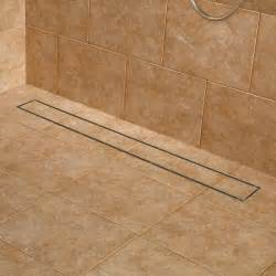 36 quot cohen linear shower drain brushed stainless steel ebay
