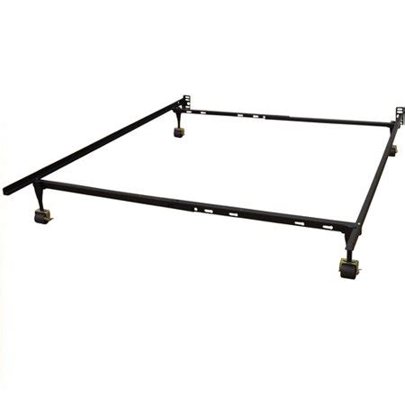modern sleep standard adjustable metal bed frame sizes walmart