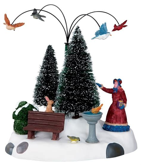 christmas village animated pieces festival collections