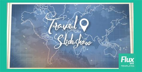 videohive map travel slideshow free download free after