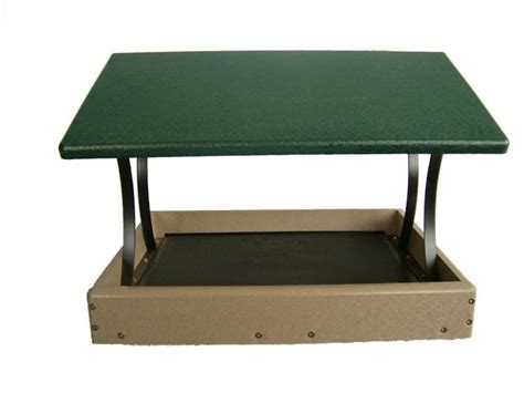 bird s choice 17 x 16 fly thru platform green roof