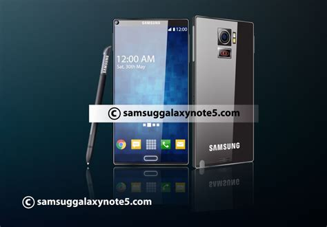 galaxy note ii concept phones samsung galaxy note 5 concept features 3lcd projector at the back concept phones