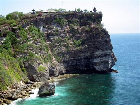 cliff bali 7 sea temples of beautiful bali the island paradise of