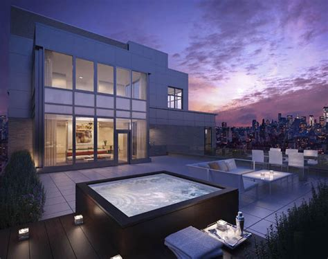 penthouse terrace six penthouse listings with for summer outdoor spaces 6sqft
