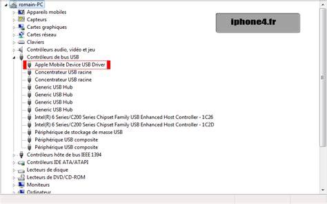 apple mobile device usb driver tutoriel comment trouver le bootrom iboot de vos