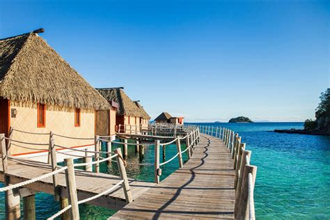 fiji accommodation bungalow water water bungalows and villas on the water in fiji