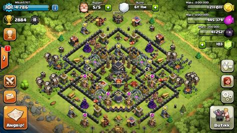 coc layout th9 anti gowipe th9 clash of clans goonsquadelite