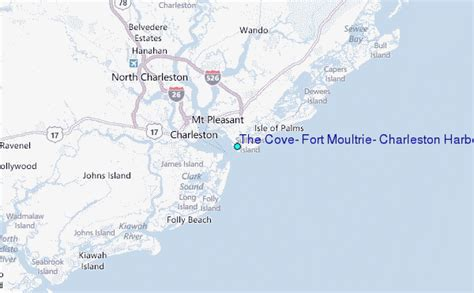 The Cove, Fort Moultrie, Charleston Harbor, South Carolina