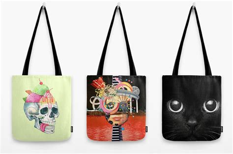 Handmade Bag Design - 8 artist designed tote bags great for gifting design milk
