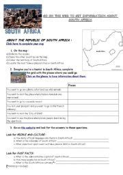 Grade 4 History Worksheets South Africa by Webquest South Africa Geography Flag History