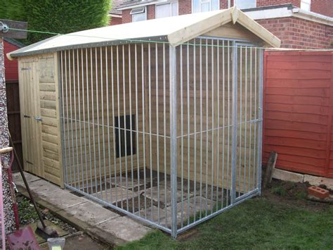 Galvanised Kennel Sections by Galvanised Bar Kennels Wooden Kennels