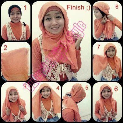 tutorial hijab paris zaskia tutorial hijab paris segi empat modern by zaskia adya mecca
