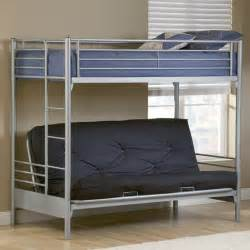 futon loft bed futon bunk beds for teenagers
