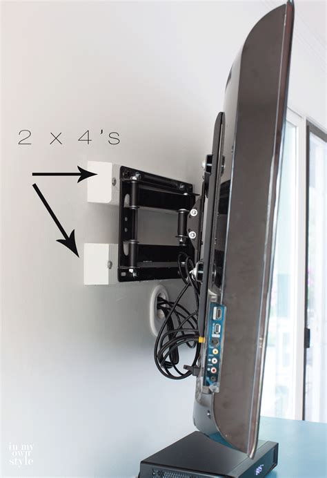 best wall installing a swivel tv mount and hiding tv cords cable
