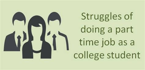 Part Time For College Students Without Struggles Of Doing A Part Time As A College Student