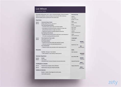 5 Resume Templates by Simple Resume Templates 013 5 Tjfs Journal Org