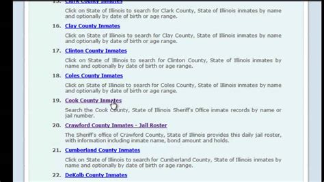 Cook County Number Search Free Cook County Inmate Search
